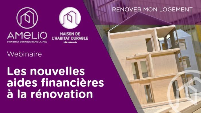 Les nouvelles aides financières à la rénovation