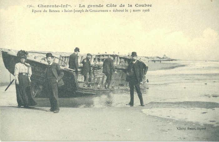 Journées du patrimoine 2020 - Conférence « Les naufrages à Saint-Palais-sur-Mer au XVIIe et XVIIIe siècle »