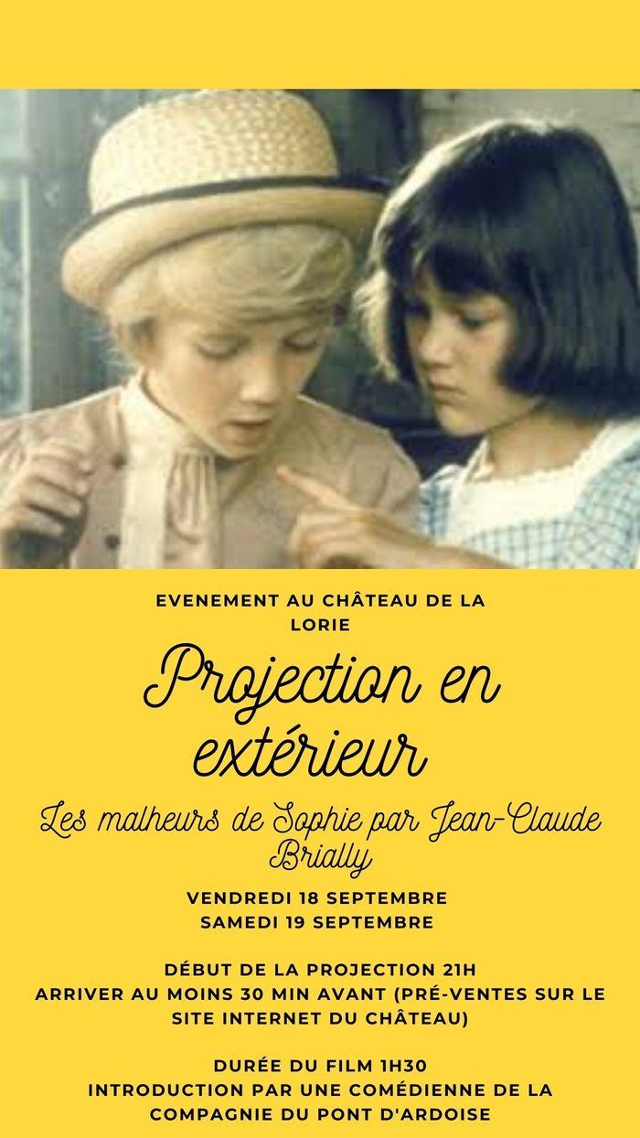 Journées du patrimoine 2020 - Projection des Malheurs de Sophie (Jean-Claude Brialy)