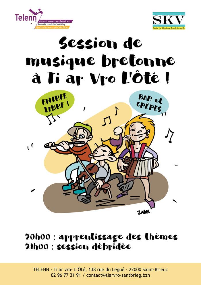Session de musique bretonne