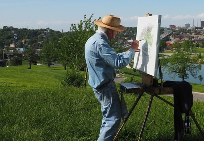 Journées du patrimoine 2019 - Val d'artistes - journée des peintres