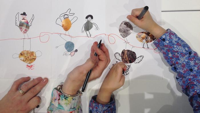"""Mini-stages pendant les vacances scolaires pour parents et enfants """"Leporello des oiseaux"""""""