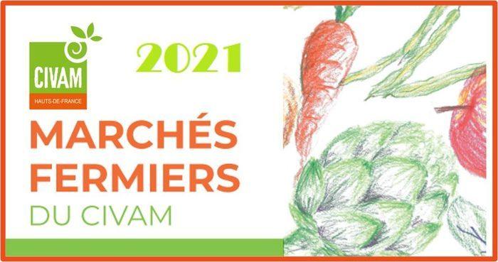 Marchés fermiers du CIVAM 2021
