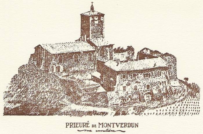 Journées du patrimoine 2020 - journée du patrimoine prieuré de Montverdun