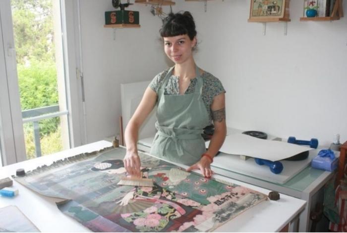 Journées du patrimoine 2020 - Conservation-restaurarion des Arts Graphiques - Atelier Colophane