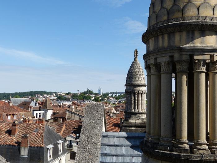 Journées du patrimoine 2020 - Education du regard au patrimoine sur les toits de la cathédrale