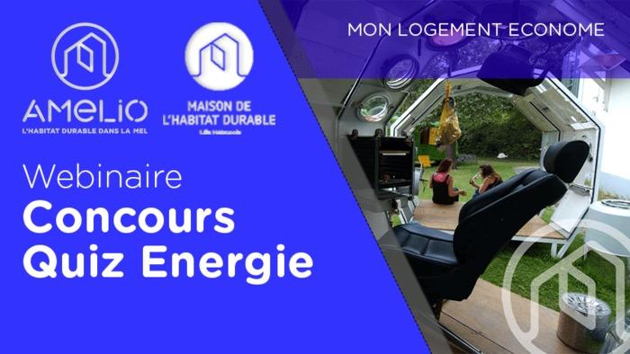 Webinaire : Quiz Energie