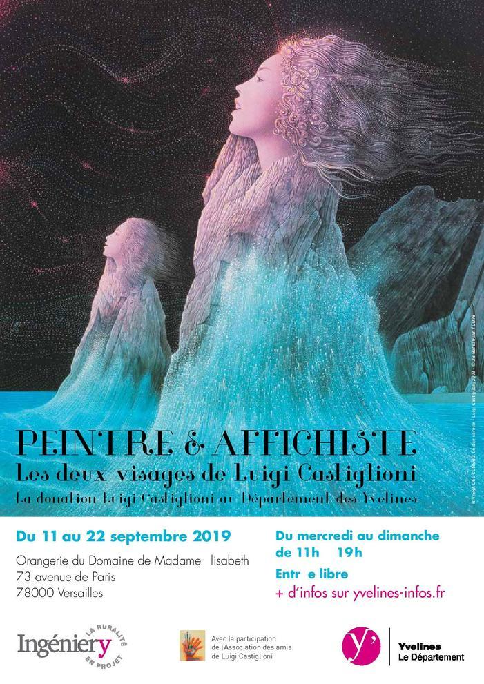 Journées du patrimoine 2019 - Luigi Castiglioni, peintre et affichiste