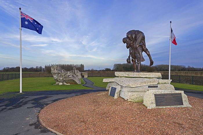 """Visite guidée des sites de mémoire de la bataille de Fromelles """"Etre sur les lignes de front"""""""