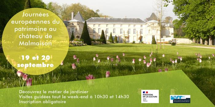 Journées du patrimoine 2020 - A la découverte des jardins du château de Malmaison