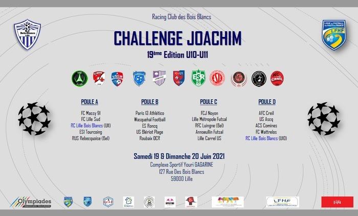 19ème édition du Challenge Joachim