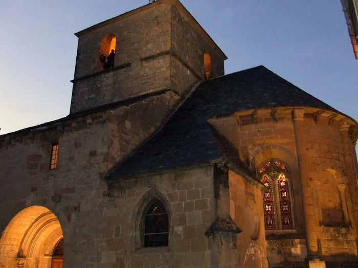 Journées du patrimoine 2020 - visite guidée du village et de l'église de Lapanouse