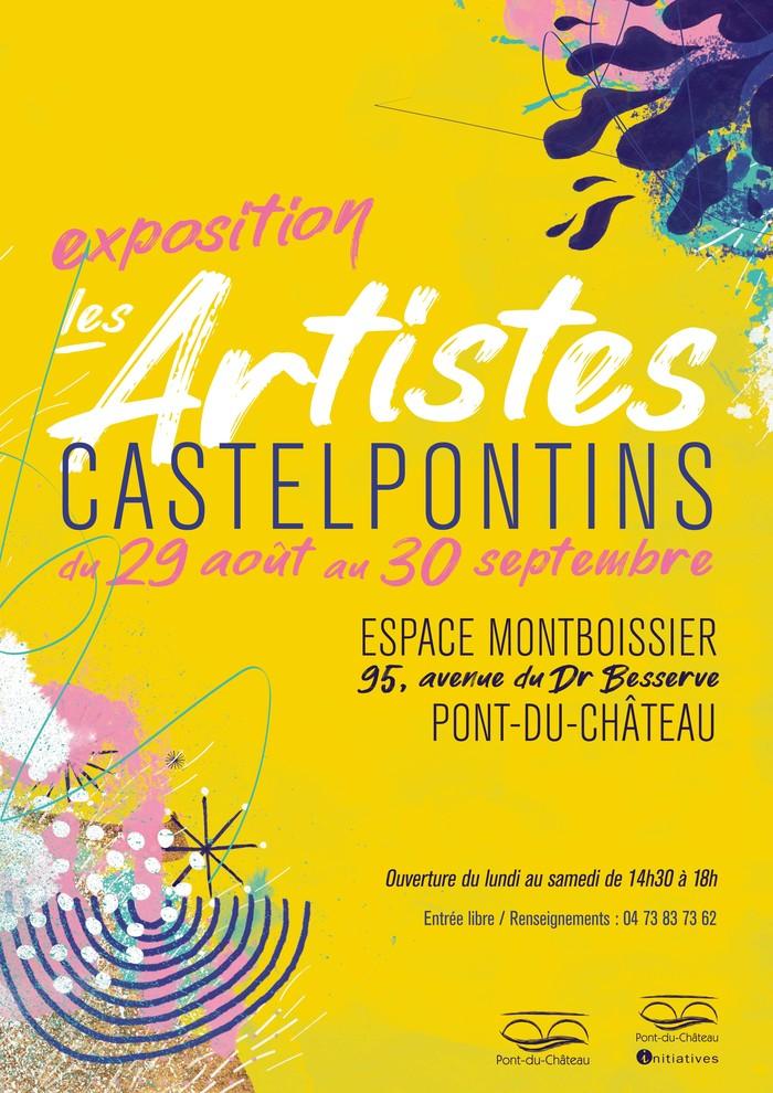 Journées du patrimoine 2020 - Exposition Les Artistes Castelpontins
