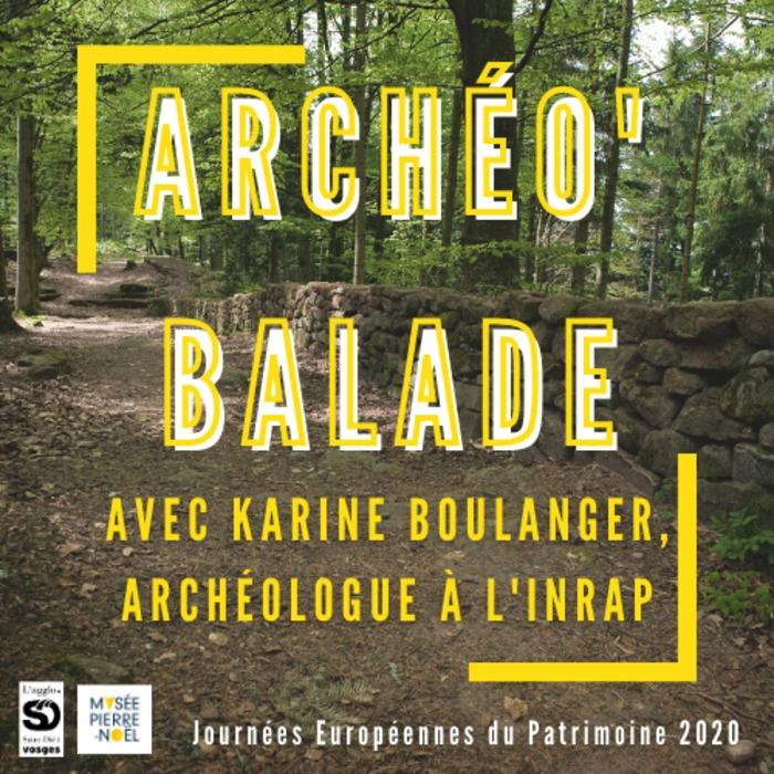 Journées du patrimoine 2020 - Archéo'balade