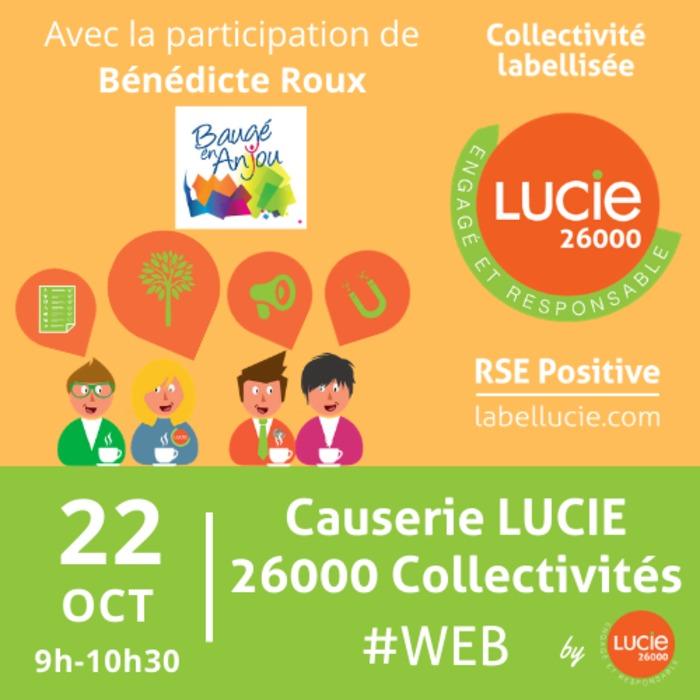 Causerie LUCIE 26000 Collectivités