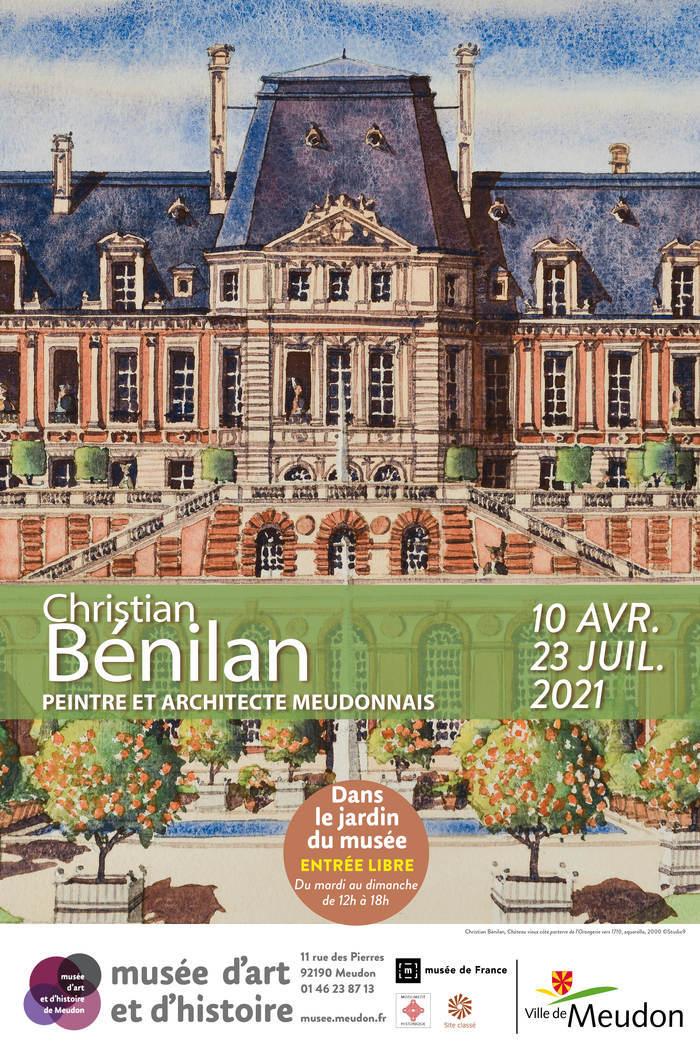 Cette exposition sur panneaux invite à une plongée dans le faste des châteaux de Meudon et Bellevue. Regards croisés entre gravures anciennes et aquarelles modernes réalisées par Christian Bénilan.