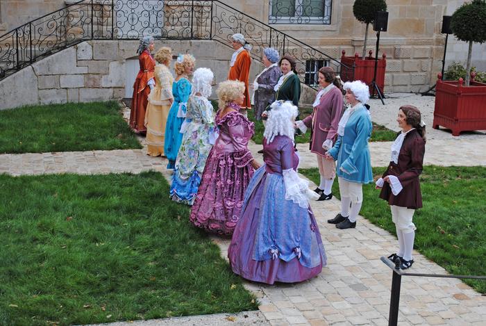 Journées du patrimoine 2019 - Démonstration de danses du XVIIIe siècle