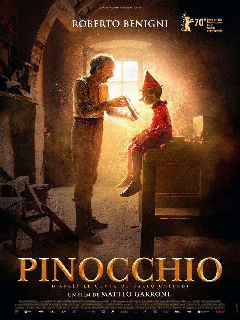 """Dans le cadre du festival Arles se livre, présentation en avant-première du film de Matteo Garrone, """"Pinocchio"""""""