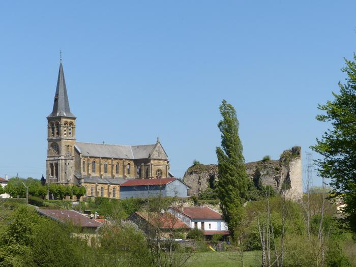 Journées du patrimoine 2019 - Visite libre de l'église Saint-Martin et des ruines du château fort