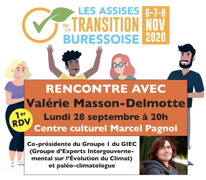 Conférence de Valérie Masson-Delmotte par la mairie de Bures-sur-Yvette