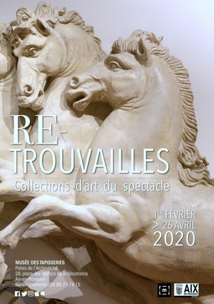 Journées du patrimoine 2020 - Annulé | Visite commentée de l'exposition Re-trouvailles, collections d'art du spectacle