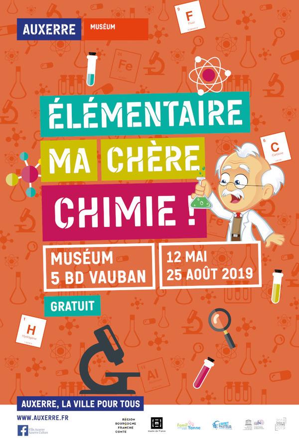Nuit des musées 2019 -Elémentaire ma chère chimie !