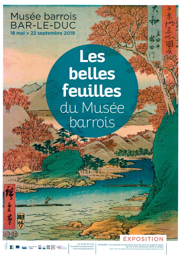 Journées du patrimoine 2019 - Les belles feuilles du Musée barrois
