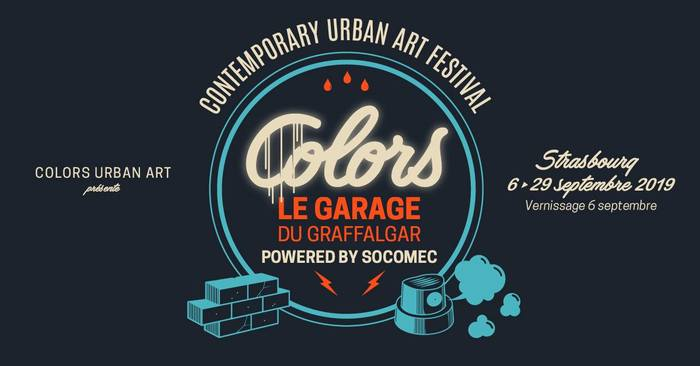 Journées du patrimoine 2019 - COLORS powered by Socomec - Contemporary Urban Art Festival