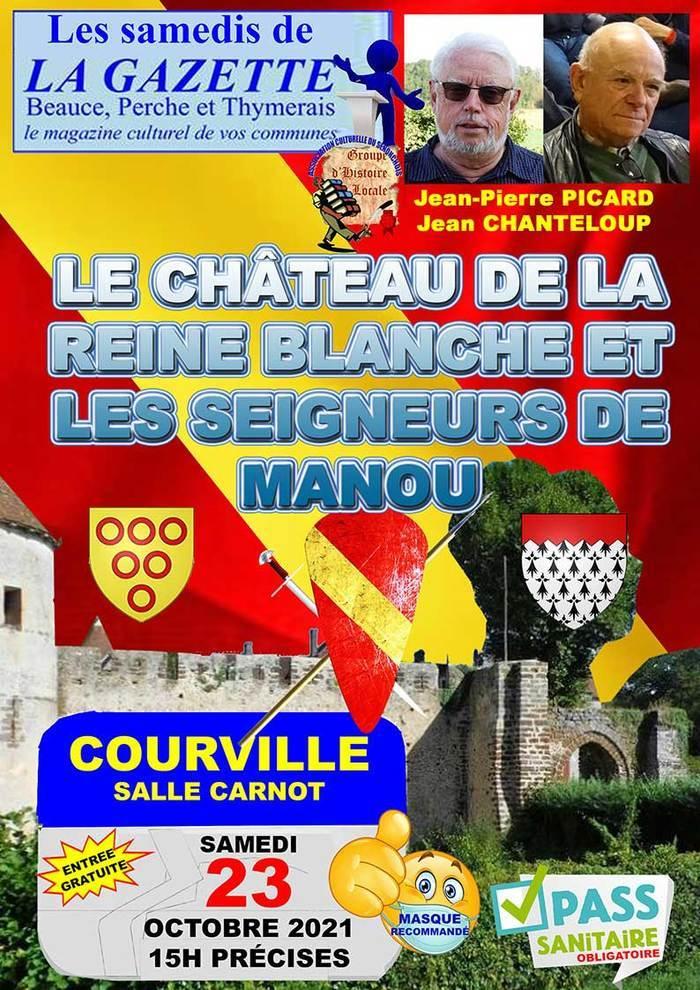 Conférence de Jean-Pierre Picard et Jean Chanteloup Samedi 23 Octobre à Courville