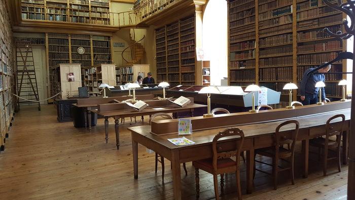 Journées du patrimoine 2019 - Visite libre de la bibliothèque patrimoniale