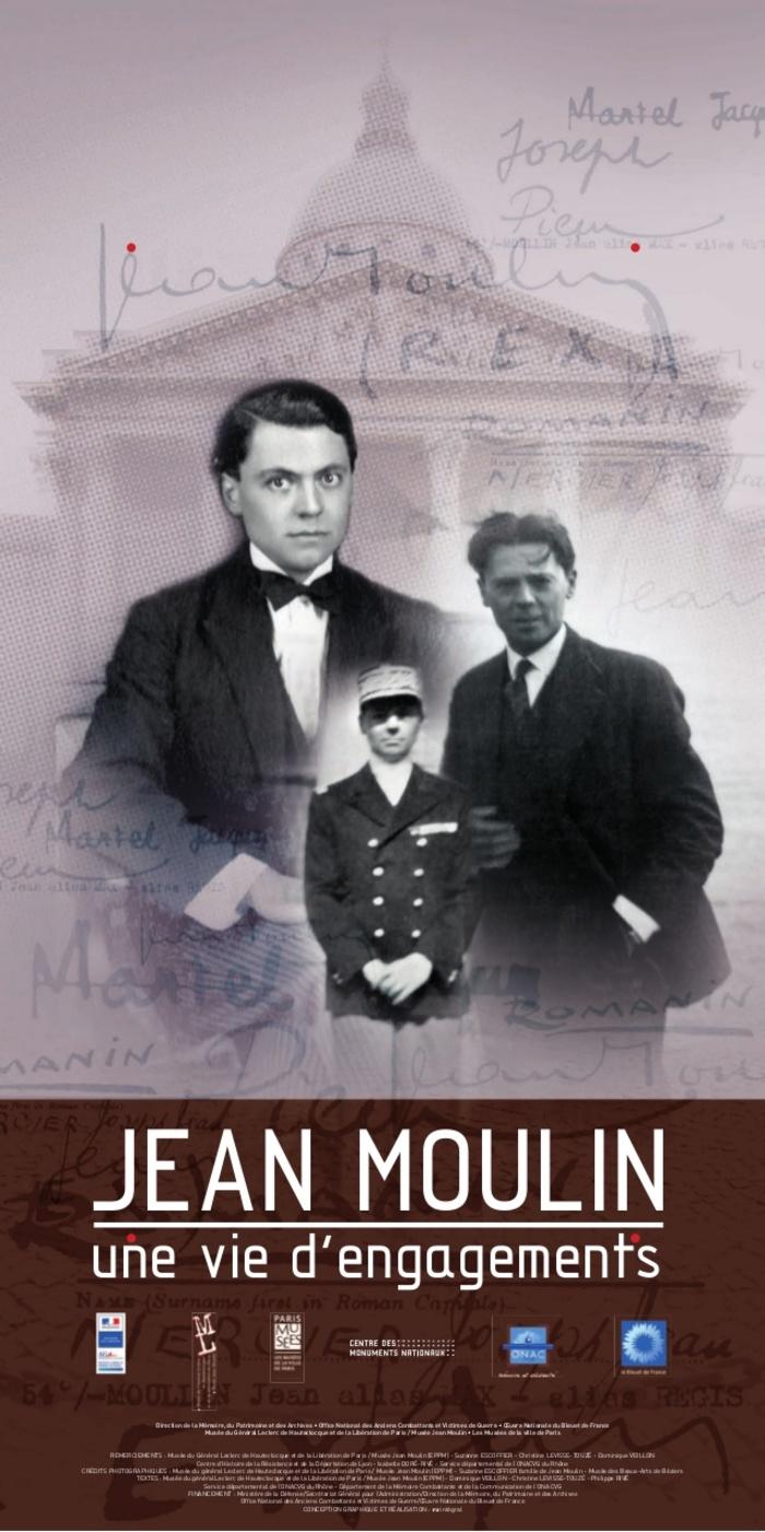 Journées du patrimoine 2020 - Annulé | Jean Moulin, une vie d'engagements