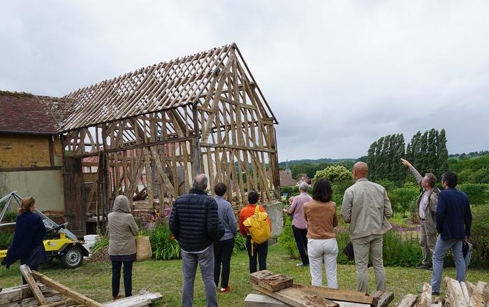 Journées du patrimoine 2020 - Visite commentée du chantier de la Bibliothèque Patrick Ansar