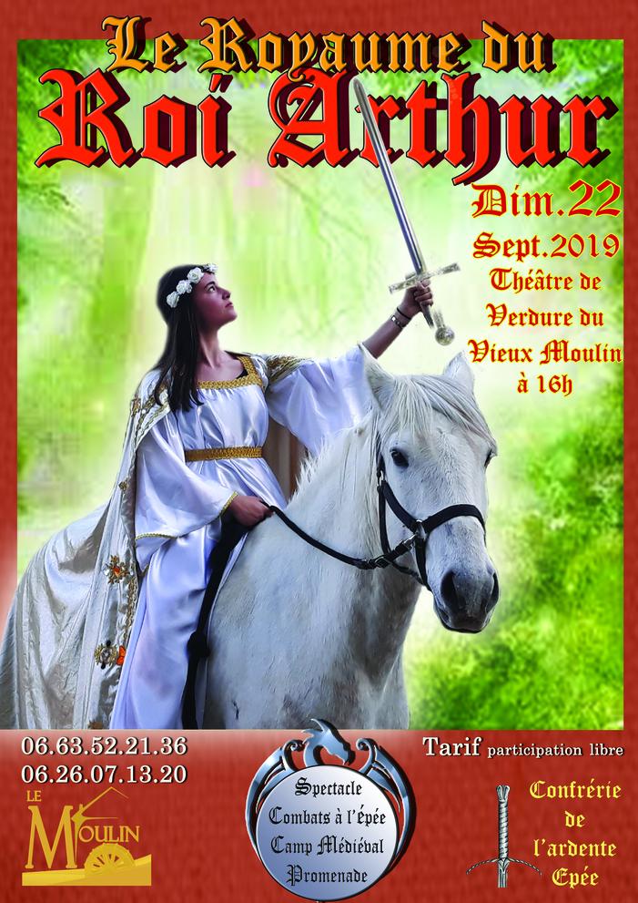 Journées du patrimoine 2019 - Le royaume du roi Arthur