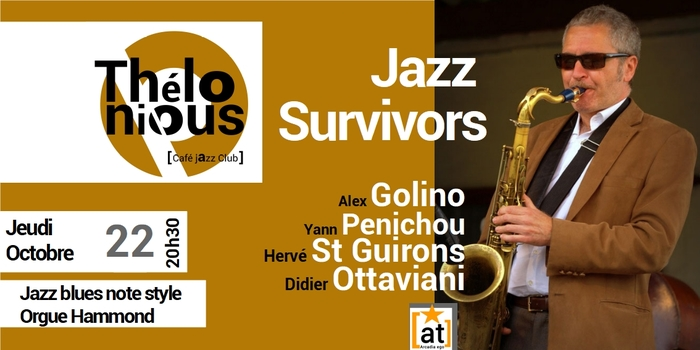JAZZ SURVIVORS / ALEX GOLINO – THELONIOUS CAFE JAZZ CLUB