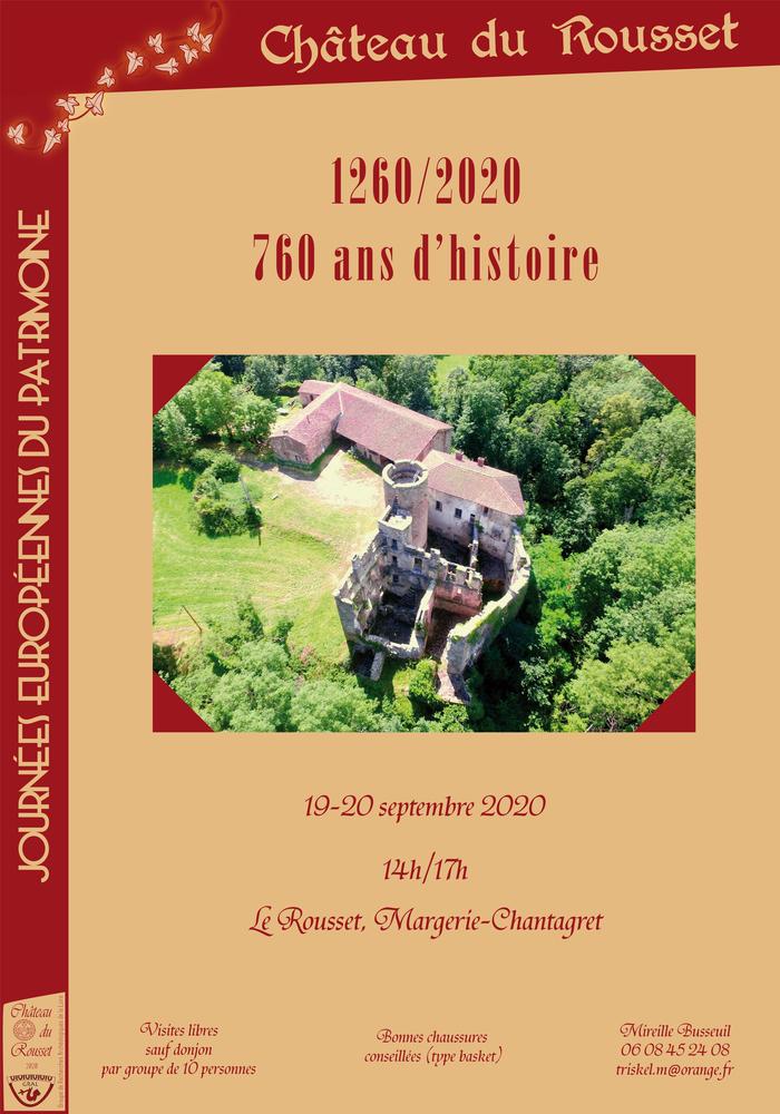 Journées du patrimoine 2020 - 1260 / 2020, 760 ans d'histoire