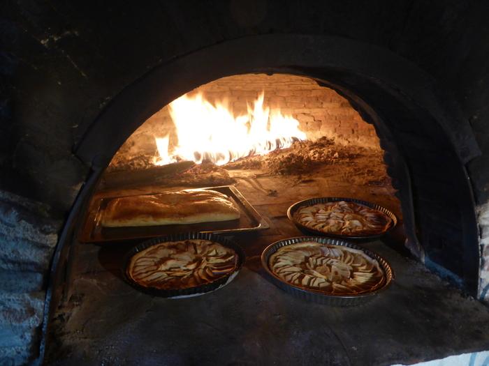 Journées du patrimoine 2019 - Repas champêtre préparé dans le four à pain de la Gravière