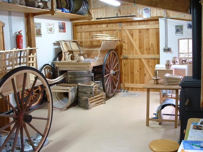 Journées du patrimoine 2019 - Visite de l'atelier du charron