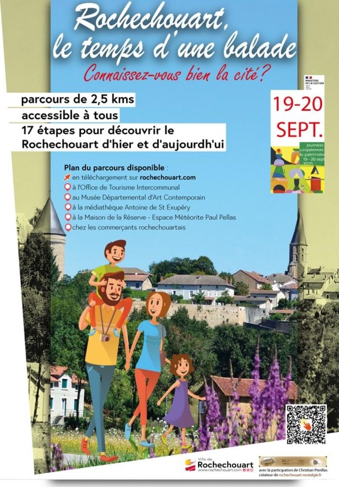 Journées du patrimoine 2020 - Rochechouart, le temps d'une balade