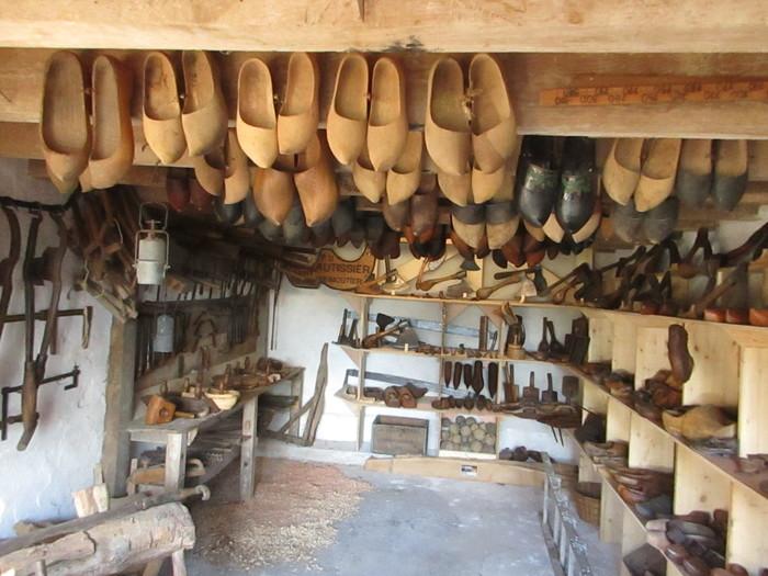 Journées du patrimoine 2019 - Visite d'un musée privé présentant des outils anciens des métiers du bois et du fer