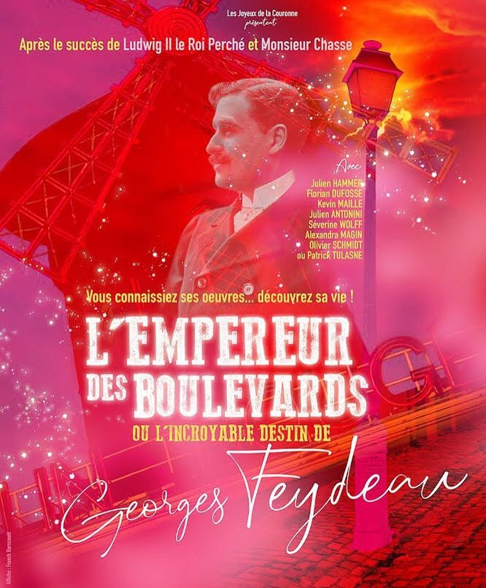 Journées du patrimoine 2020 - Spectacle L'Empereur des Boulevards - Hommage à la vie de Georges Feydeau