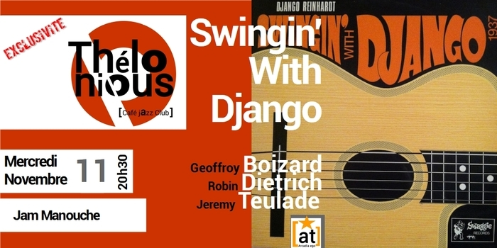 SWINGIN' WITH DJANGO  – THELONIOUS CAFE JAZZ CLUB