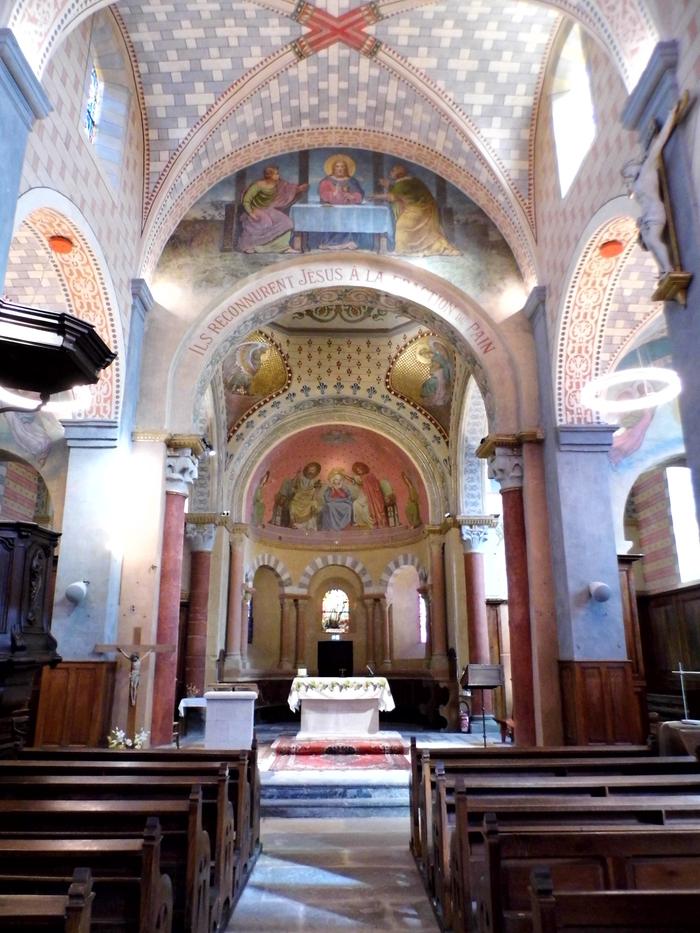 Journées du patrimoine 2020 - L'église de la Nativité de Notre-Dame de Taluyers : après mille ans d'histoire et un an de restauration.