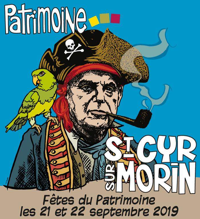 Journées du patrimoine 2019 - Les aventures du Perroquet-Pirate, un spectacle dans le jardin de Pierre Mac Orlan