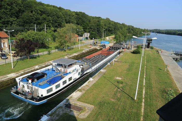 Journées du patrimoine 2019 - Visite guidée du barrage et des écluses d'Évry