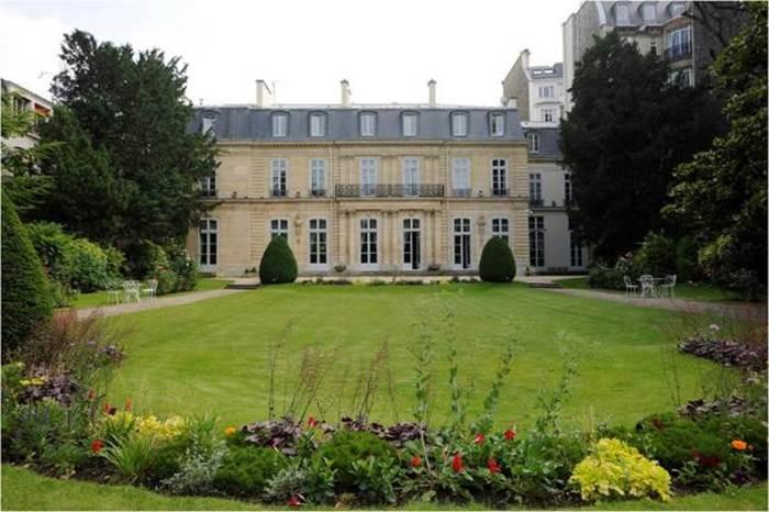 Journées du patrimoine 2019 - Visite de la résidence de l'ambassadrice de Suisse en France