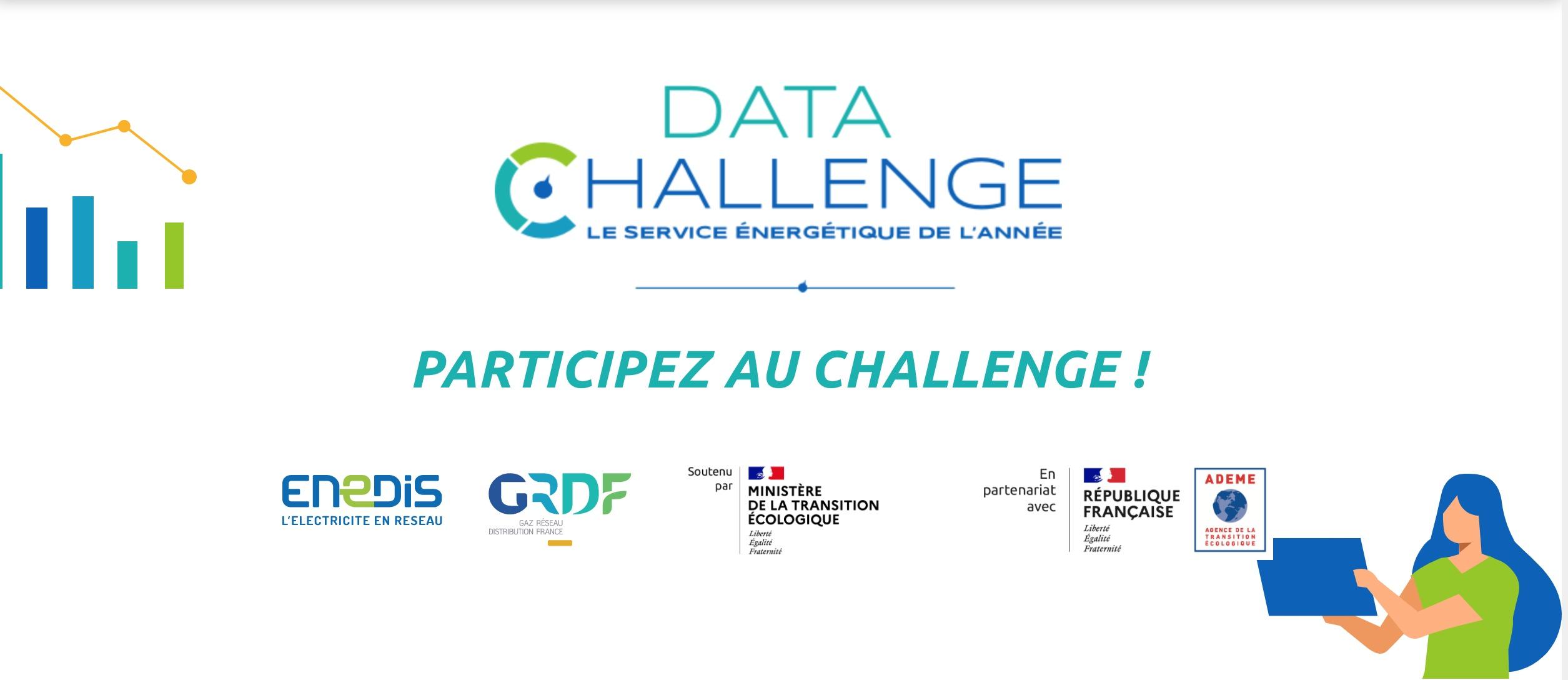 Participez au Data Challenge - le service énergétique de l'année