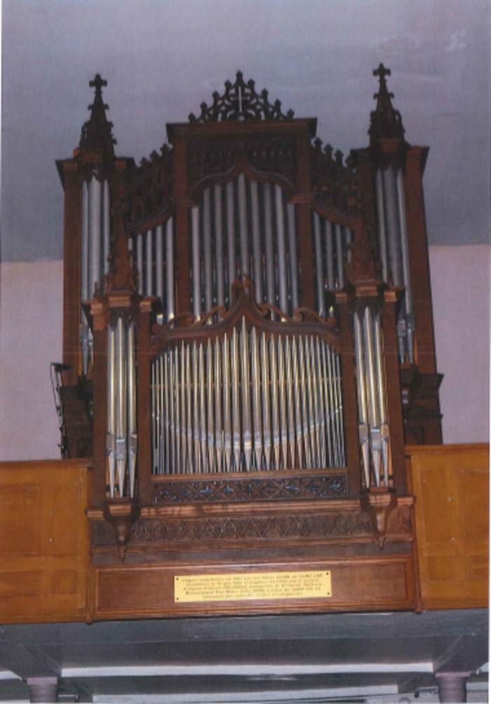 Journées du patrimoine 2019 - Présentation de l'orgue de l'Eglise de Saint-Amé