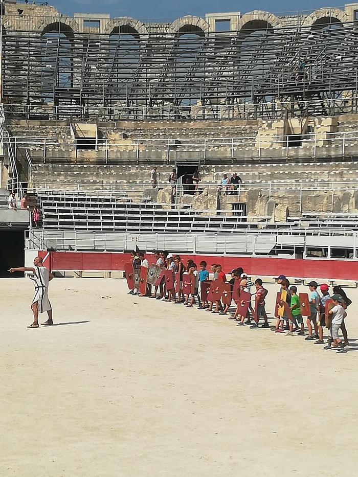 Journées du patrimoine 2019 - L'école de gladiateur -