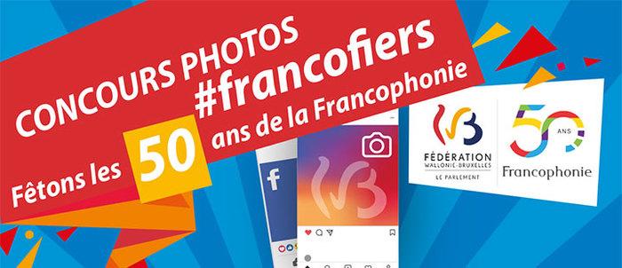 """A l'occasion des 50 ans de la Francophonie, le Parlement de la Fédération Wallonie-Bruxelles organise un concours photos """"#Francofiers"""" sur Instagram et Facebook, du 15 juin au 15 août 2020."""