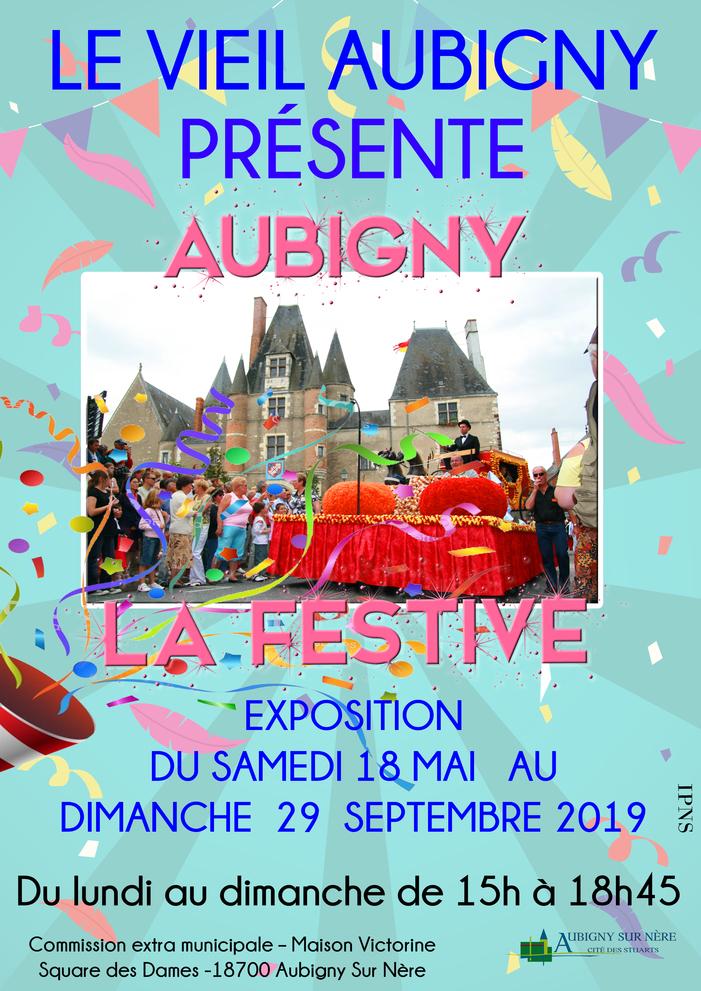 Journées du patrimoine 2019 - « Aubigny la festive »